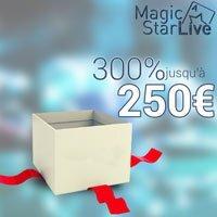 Les bonus du casino Magic Star Live